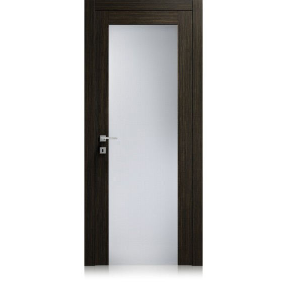Area / 1 materic noir door