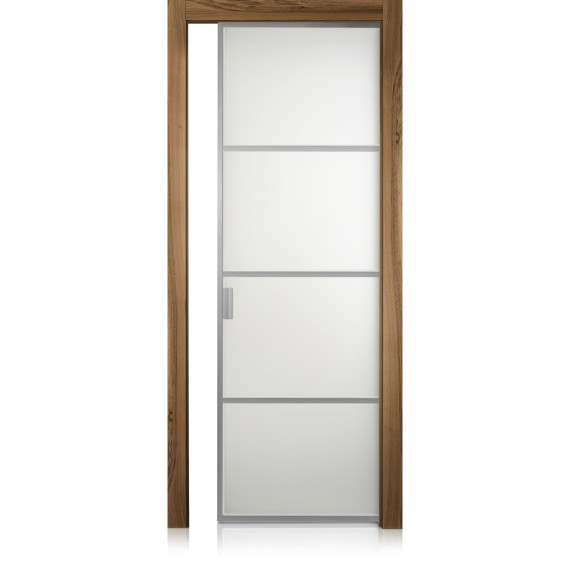 Cristal Frame / 3 noce natural touch door
