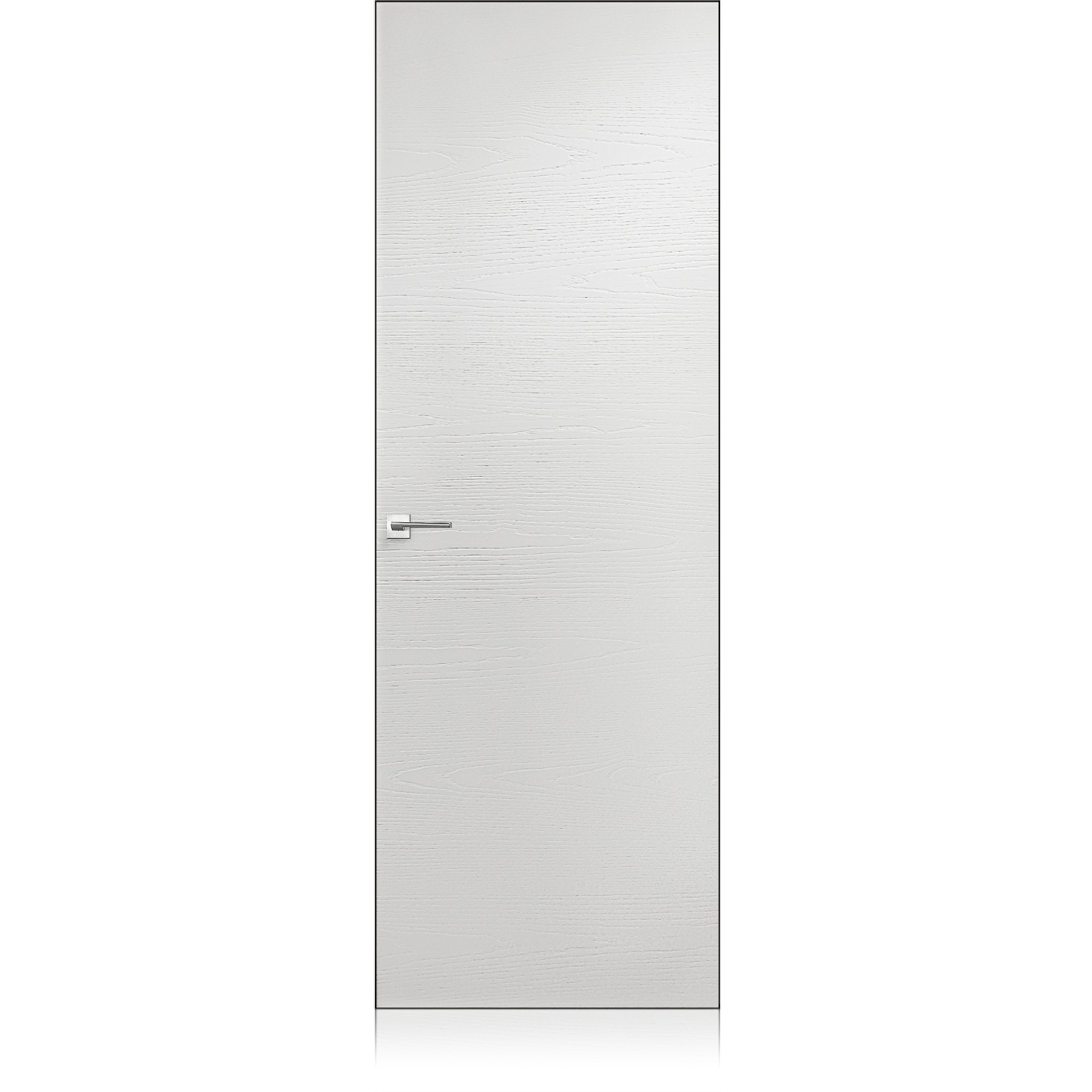 Equa Zero trame bianco optical door