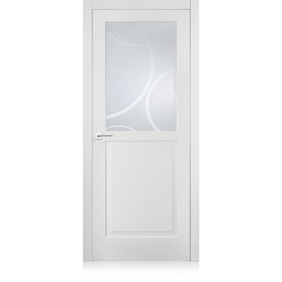 Suite / 4 bianco optical door